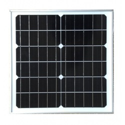 Customized solar module mono made in glass white ground no frame size 36X36cm 12 cells 6V 20W power