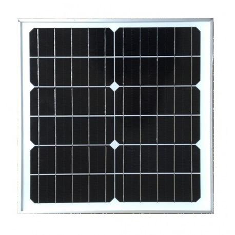 Modulo fotovoltaico personalizado con marco 12 celdas fondo blanco de 360X360mm 6V 20W de potencia
