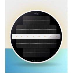 High quality underwater solar led pool light lamp with magnet ideal for liner pools no cables easy install and move save time