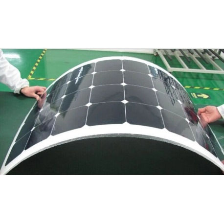 SunPower Monocrystalline flexible solar cell 5X5 inches (125x125mm) A-Grade 3300mW power