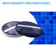 Lampada led energia solare con magnete per piscine Liner con pareti in acciaio zincato installazione rapida risparmio assicurato