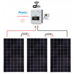 Kit fotovoltaico 1100W Plug and Play CE-021 per autoconsumo per appartamento Inverter ZCS1100TL