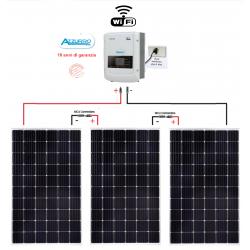 Kit fotovoltaico 1100W Plug and Play para autoconsumo de appartamentos Inverter ZCS1100TL