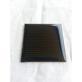 Mini panel solar monocristalino epoxy 42X42 mm