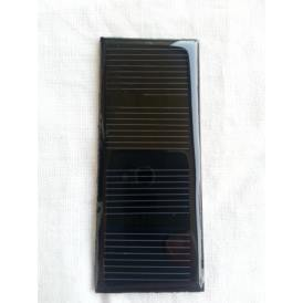 Mini epoxy solar panel monocrystalline 68X28 mm