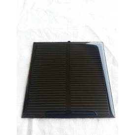 Mini epoxy solar panel monocrystalline 70X70 mm
