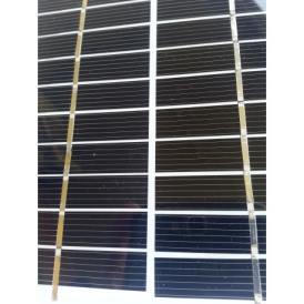 Mini pannello solare monocristallino vetro 130X130 mm
