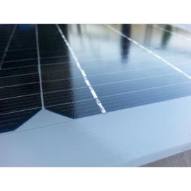 Mini pannello solare monocristallino vetro 300X220 mm