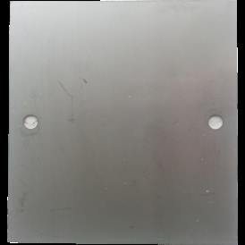 Placas neutra de acero 316L 160X170 mm para Generador de Hidrogeno HHO