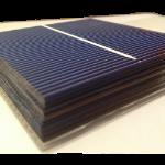 "Polycristalline solar cell 3""x3"" ( 76X76 mm ) A-grade 1 bus bar 1W power"