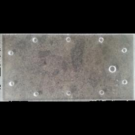 Placas de plexiglas perforadas de 200x100mm para generador de hidrogeno hho