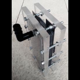 Placas neutra de acero 316L 160X70 mm para Generador de Hidrogeno HHO