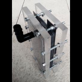 316L steel neutral plate 160X70 mm for DIY HHO Hydrogen Generator