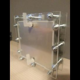 Kit XL generador gas HHO hidrógeno de 11 placas de acero inoxidable 316L expandibles