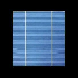"Celula solar Policristalina 6""x6"" ( 156x156 mm ) A-Grade 2BB (Bus bar)"