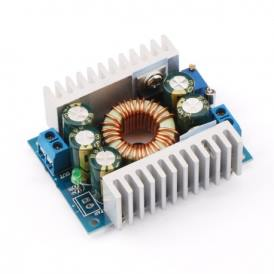 DC Power Supply Voltage Converter 8A/100W 12A Max DC 5-40V to 1.2-36V Step Down for Battery, Power Transformers