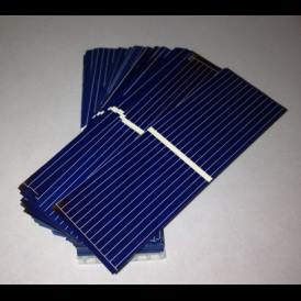 Solar cells 1X3 inches (25X76 mm) A-grade a 1 bus bar