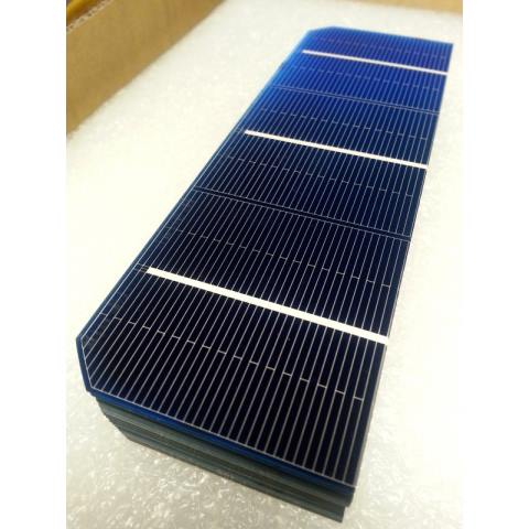 Mono Solar Cell 2x6 In 56x156 Mm A Grade 3 Bus Bar 1 5w