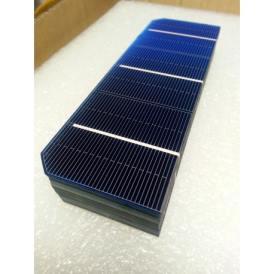 """Cella solare Mono 2""""x6"""" (52X156 mm) tipo A-grade 3BB"""