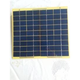 Mini pannello solare 5W epoxy policristallino 200X220 mm con caricatore USB incorporato