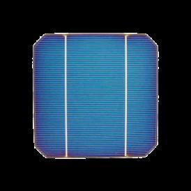 "Celula solar 5""x5"" ( 125x125 mm ) A-Grade 2BB (Bus bar)"