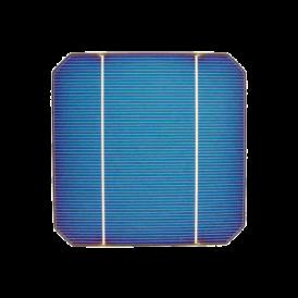 "Solar cell 5""x5"" ( 125X125 mm ) A-grade 2BB"