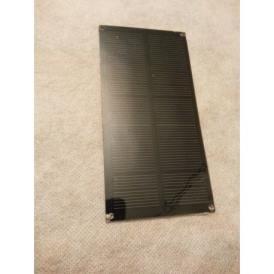 Mini pannello solare monocristallino in PET 140X70 mm con fori agli angoli