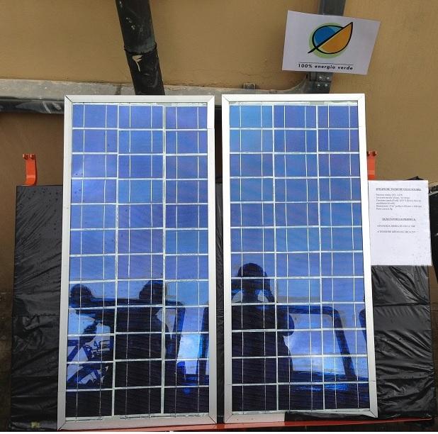 Istituto checchi di Fucecchio, pannelli fotovoltaici completati