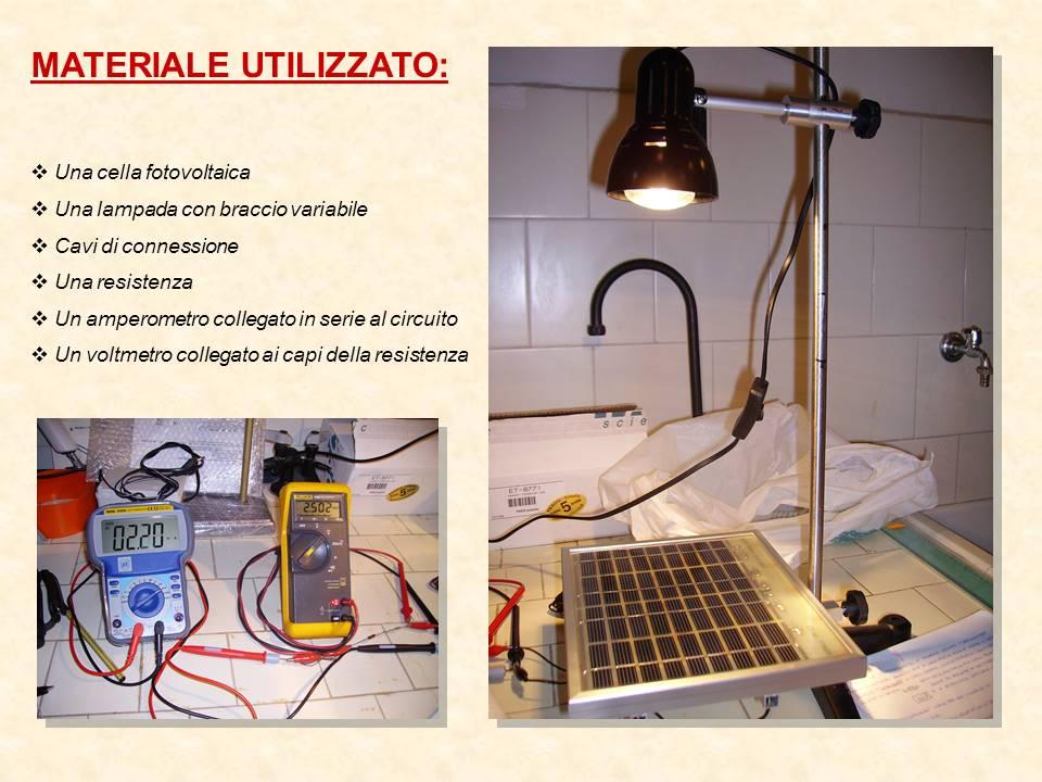 TEST di laboratorio su pannello fotovoltaico assemblato dal nostro kit di celle solari 1X3 pollici 26X78 mm