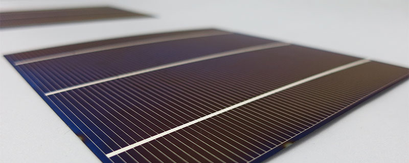 polycrystallyne solar cell 3X6 inches (78X156 mm) 3 bus bars 1.9W