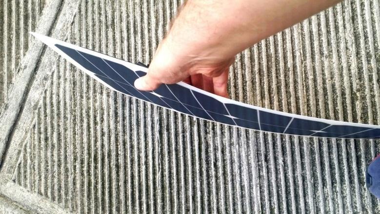 Realizziamo moduli con celle Sunpower in ETFE su misura